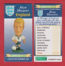 England Alan Shearer Blackburn Rovers E04